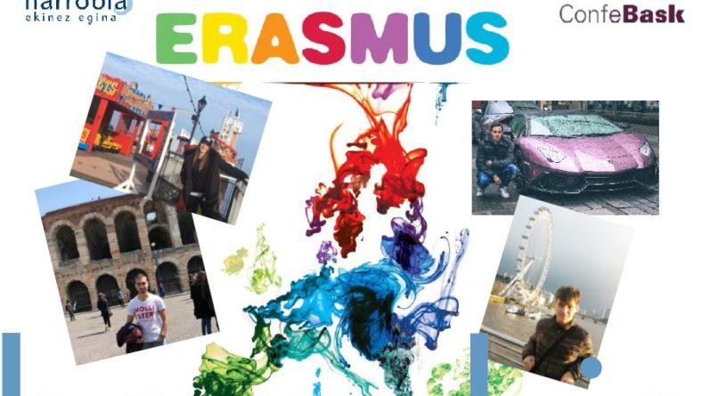 ERASMUS+  praktikak  bukatu  dituzte  kirolelo  bi  ikaslek