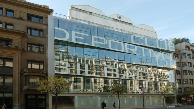 Praktikak Club Deportivo de Bilbao gimnasioan