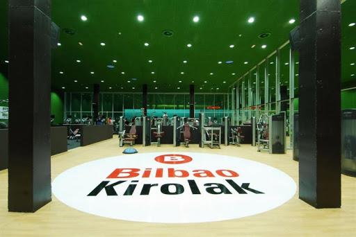 Praktikak Bilbao Kirolak enpresako Miribillako kiroldegian